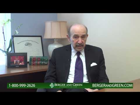 Actual Injury Cases - Berger and Green Injury Lawyers