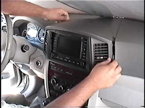 How To Remove Radio Navigation From 2005 Jeep Cherokee For Repair You