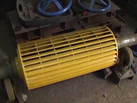 Cross Flow HeksaHydro® Turbine T14-300 series (Pressure Bench Test)