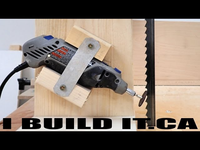 This diy band saw sharpening jig saves your blades and your money greentooth Choice Image