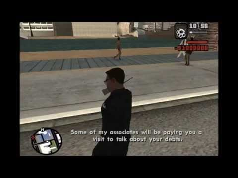 GTA San Andreas - How to get chased by the mafia