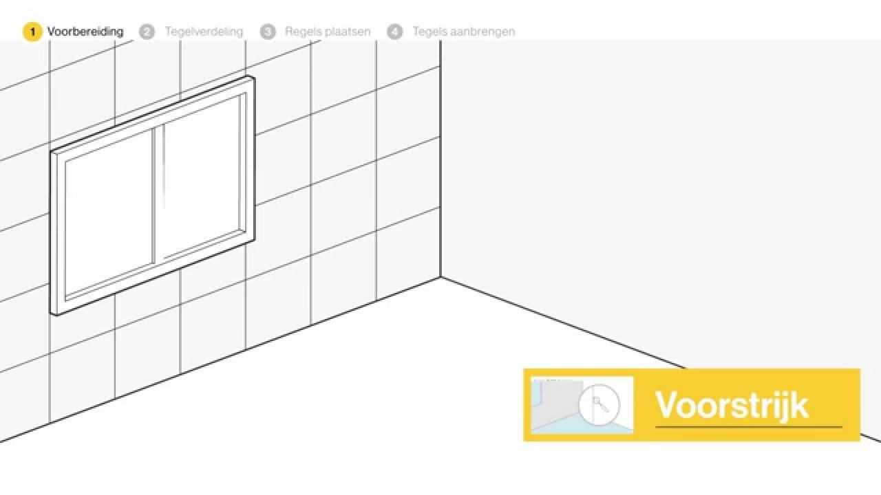 Wandtegels Zetten Stap Voor Stap Uitgelegd Doe Het Zelf Youtube