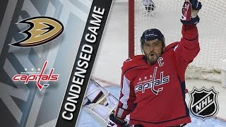 Anaheim Ducks vs Washington Capitals – Dec. 16, 2017 | Game Highlights | NHL 2017/18. Обзор матча