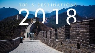 5 BEST Travel Destinations For 2018 | UNILAD Adventure