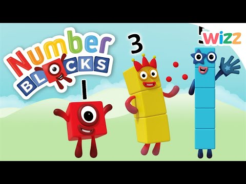 Numberblocks - Easy Counting for Kids   Wizz   Cartoons for Kids