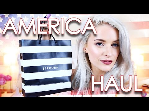 AMERICA HAUL ft Sephora, Revolve & Triangl Bikinis | Inthefrow