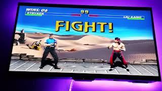 Ultimate Mortal Kombat 3 : Stryker Gameplay (MAME)