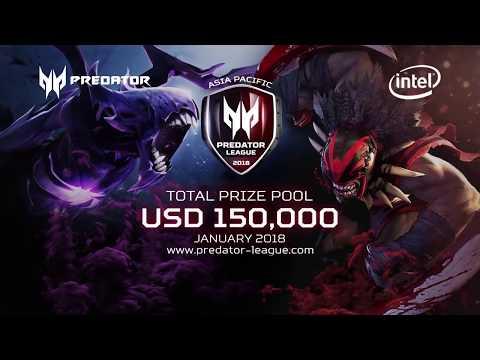 Predator League   Event Gaming Terbesar Berhadiah Total USD 150.000