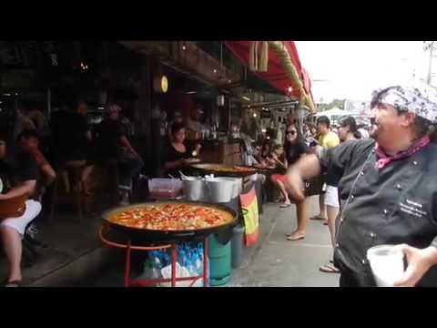 Paella at Chatuchak Weekend Market