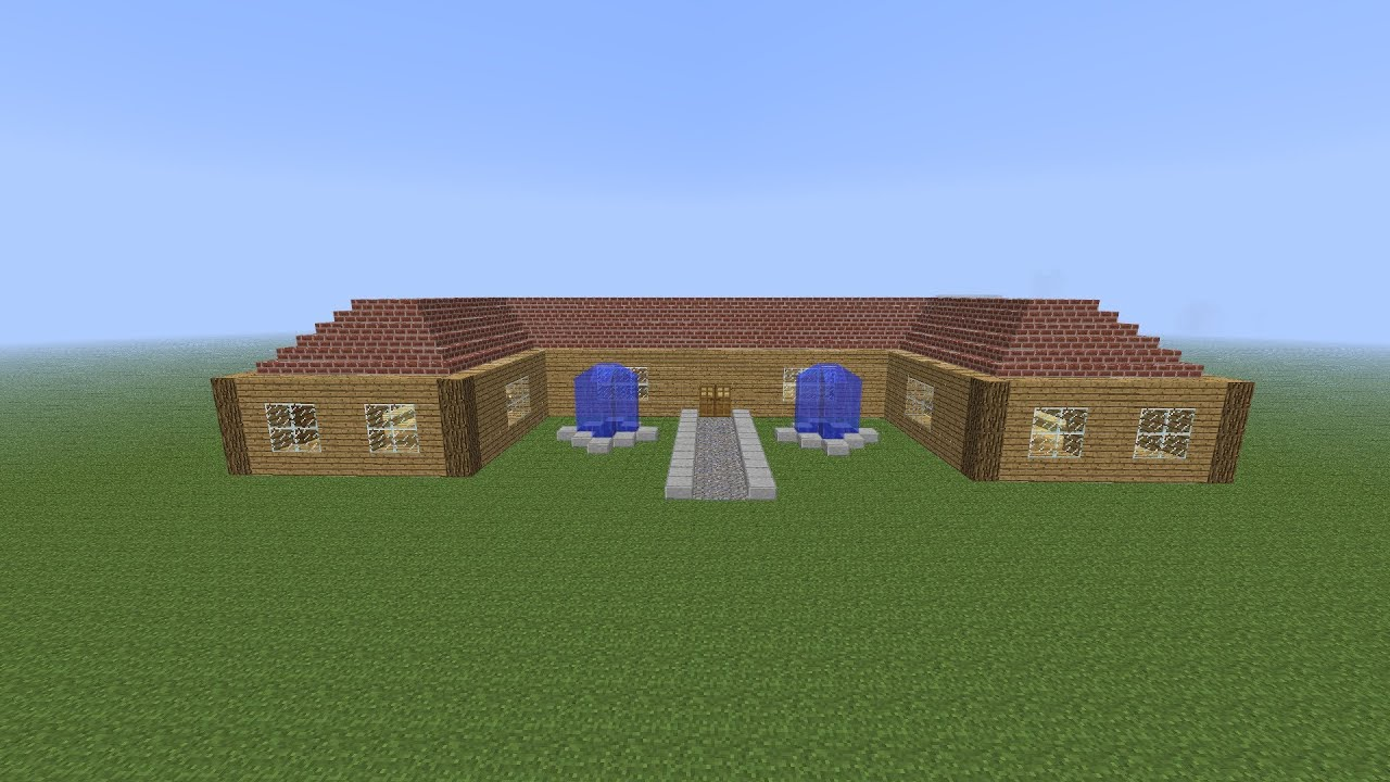 Minecraft-Schönes Haus bauen Tutorial - YouTube