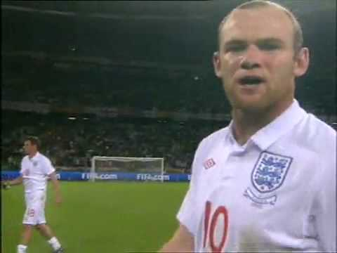 Wayne Rooney boo home fans after England vs Algeria match video 18/06/10