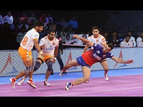 Pro Kabaddi 2018: Puneri Paltan vs Dabang Delhi Highlights [Hindi]