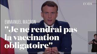 La vaccination contre le Covid-19 pourrait commencer dès fin décembre, annonce Emmanuel Macron