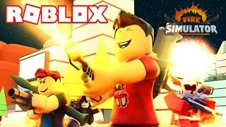 BURNING ALL ROBLOX WITH a LANZALLAMA! 🔥