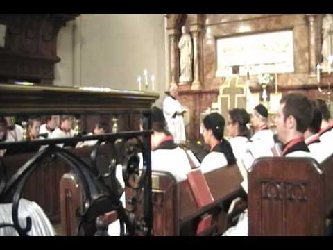 Sursum Corda, Sanctus & Benedictus (pulpit view) @ St. John's Detroit