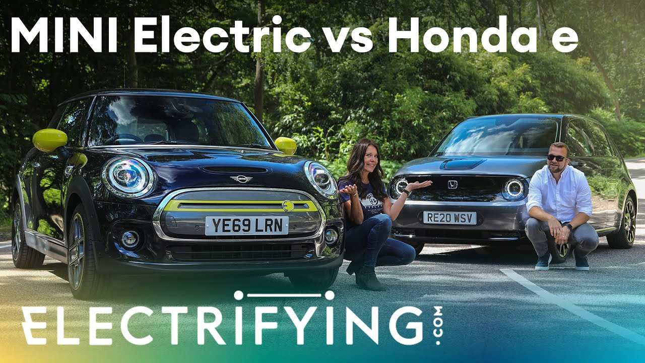 Honda e vs MINI Electric: In-depth head to head review with Ginny Buckley & Tom Ford / Electrifying