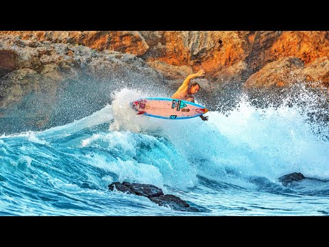 SURFING SKETCHY WAVES IN HAWAII