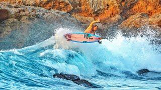 SURFING SKETCHY WAVES IN HAWAII