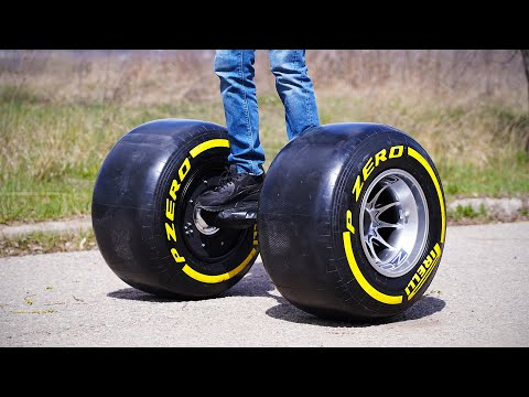INSANE Hoverboard With Formula 1 Wheels