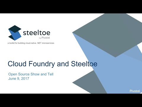 OSSAT 2017 - Intro to Pivotal Cloud Foundry & Steeltoe by Zach Brown