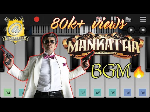 mankatha-bgm-|-keyboard-notes-/-tutorial-(mobile)