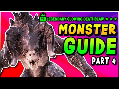 Fallout 76 - 3 STAR LEGENDARY Deathclaw Locations & Mirelurk Queen Locations (Fallout 76 Guide) thumbnail