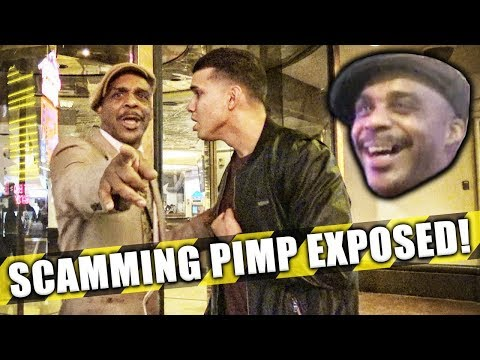 EXPOSING A SCAMMER IN VEGAS!!!