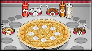 Papa's Bakeria - Game Preview (first day tutorial)