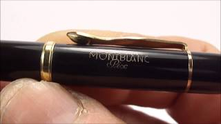 Vintage Montblanc Pix M-N 72G Pencil Review