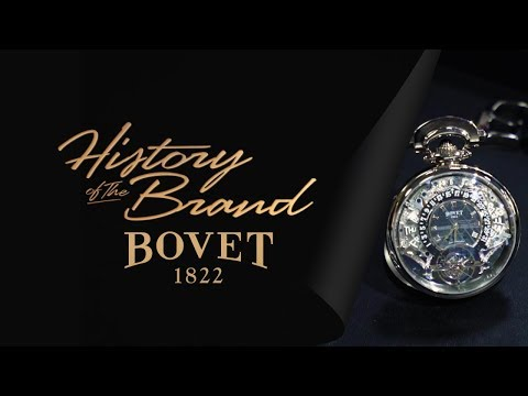 History Of The Brand House Of Bovet