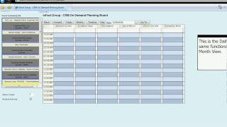 InFact Group - CRM On Demand Planning Board