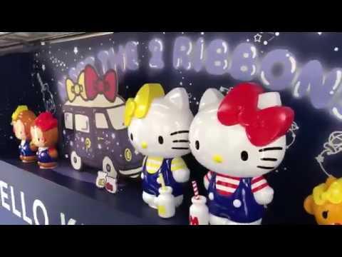 Asia Trip 2018 - Japan Part 1 - Tokyo, Yokohama, Disney, Sanrio Puroland Hello Kitty!!!!