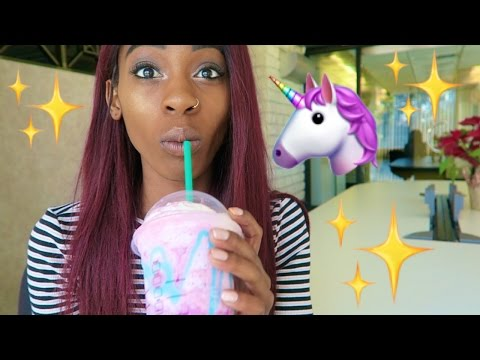 Thumbnail: STARBUCKS UNICORN FRAPPUCCINO TASTE TEST