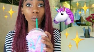 STARBUCKS UNICORN FRAPPUCCINO TASTE TEST