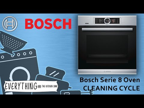 Bosch Oven Cleaning Pyrolytic cleaning cycle