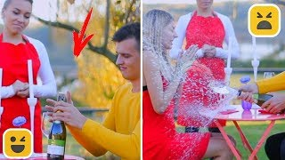 Pranks On The First Date! Prank on Friends & Family
