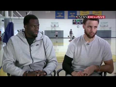 Stephen Curry and Draymond Green Interview!