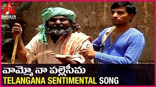 Telangana Emotional songs | Vamoo Na Palle Seema Sentimental Song | Amulya Audios And videos