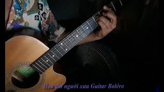 Hoa tím người xưa Guitar Boléro