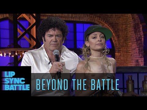 Beyond the Battle with Nicole Richie & John Michael Higgins  Lip Sync Battle