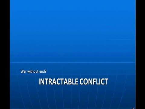 POLS4518.06 Intractable Conflict