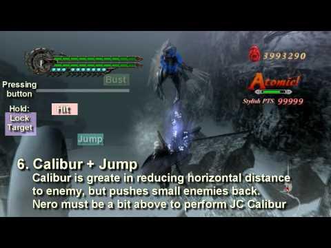 Devil May Cry 4 - Anatomy of Jump Cancel [Nero]