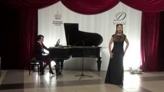 Вторая ария Керубино из оперы В.А. Моцарта