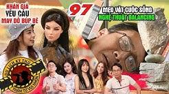 NHỮNG THÁM TỬ VUI NHỘN #97 UNCUT | Hoa tỷ Miko Lan Trinh mê mẩn trước BỘ SƯU TẬP BÚP BÊ 'KHỦNG'