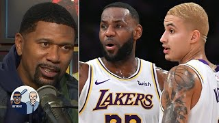 Jalen Rose on what Anthony Davis' injury means for Kyle Kuzma's trade value | Jalen & Jacoby
