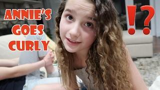 Annie Goes Curly ⁉️ (WK 320.5) | Bratayley