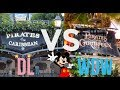 Pirates Of The Caribbean | Disneyland vs. Walt Disney World (ep.1)