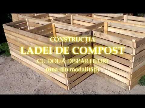 Construcţia ladei de compost [una din modalităţi]