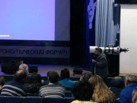 """видео: Поляков Алексей 150-мм хромосферный телескоп """"Sunstrider"""""""
