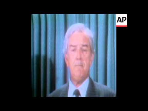 SYND 3 5 73 FORMER US TREASURY SECRETARY JOHN CONNALLY CHANGES PARTY ALLEGIANCE